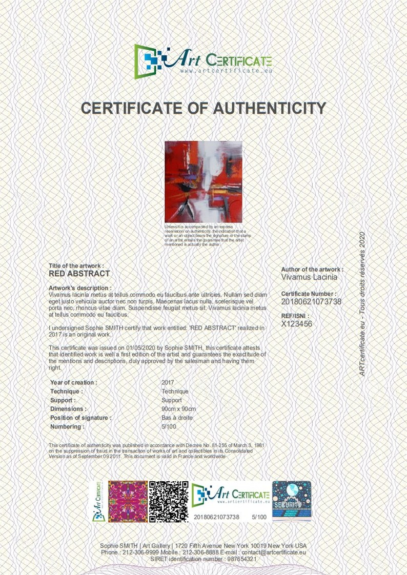 Artwork Certificate Of Authenticity Template from www.certificate-of-authenticity-for-artwork.com
